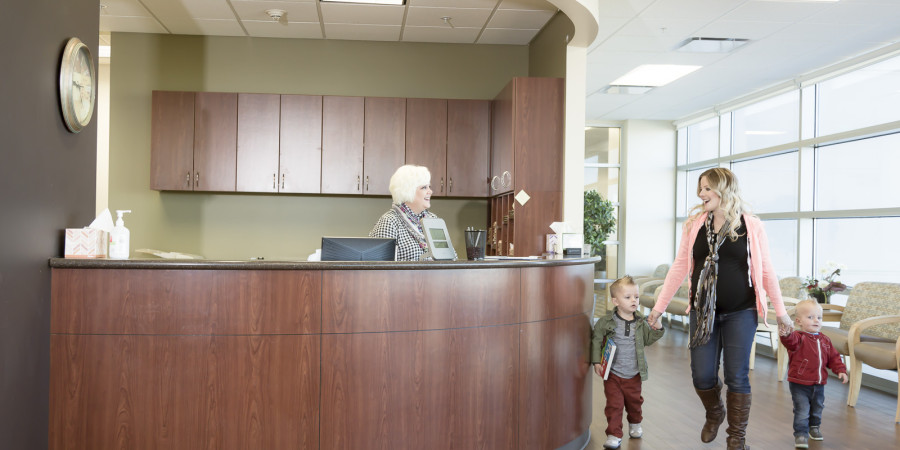 Cottonwood OBGYN doctor waiting times