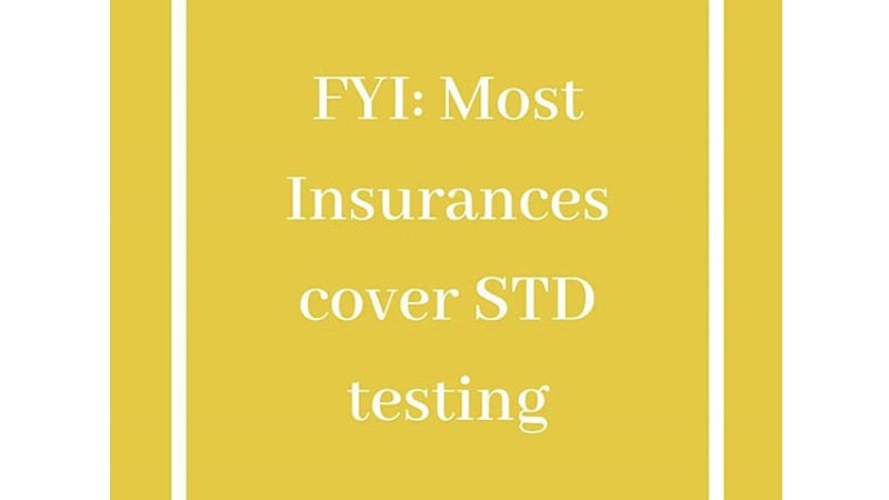 STD Test covered by health insurance